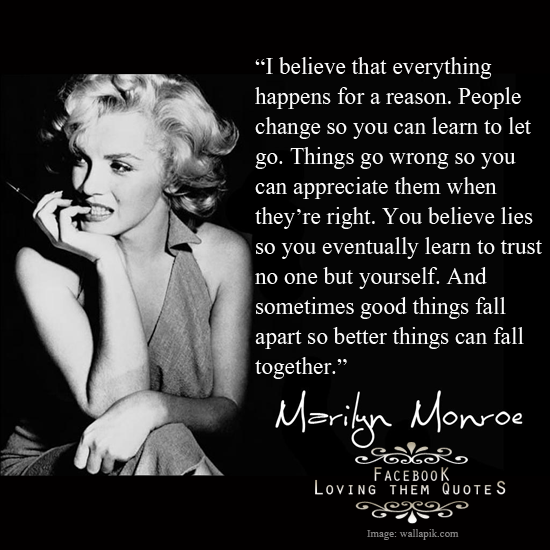 Marilyn Monroe believes_1045154_393413090779569_1975968702_n